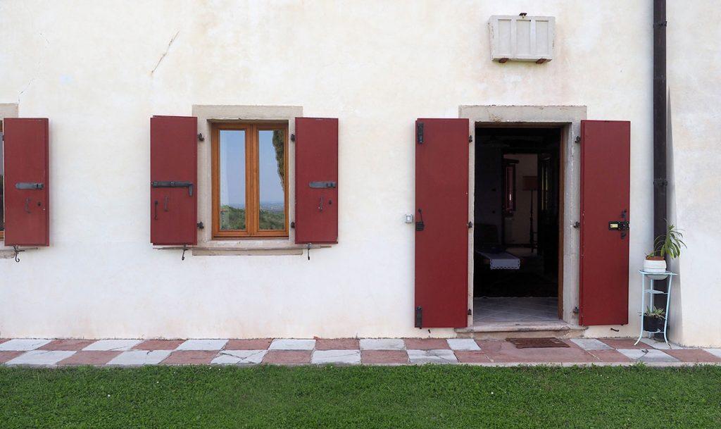 Ingresso della Casa Vacanze Villa Salvador