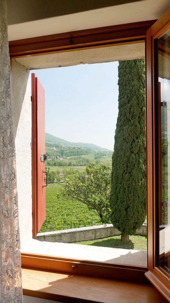 Veduta dalla camera singola della Casa Vacanze Villa Salvador